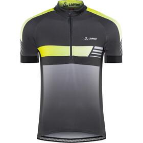 Löffler Hotbond Reflective Bike Jersey Shortsleeve Men yellow/black